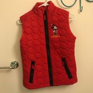 Minnie Mouse Puffer Vest